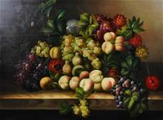 188 CONTEMPORARY STILL LIFE PAINTING OF LARGE SIZE