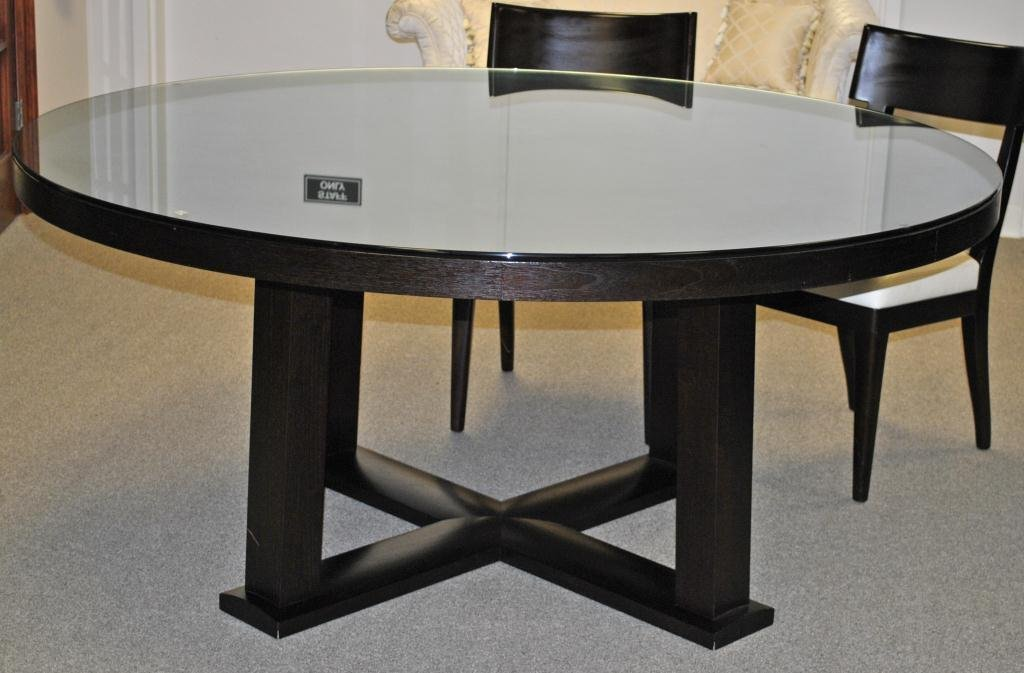 205 Christian Liaigre Round Dining Table