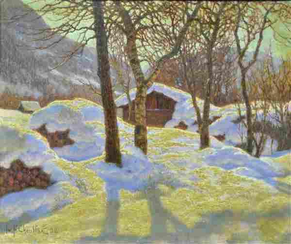 IVAN CHOULTSE (Russian, 1874-1939)