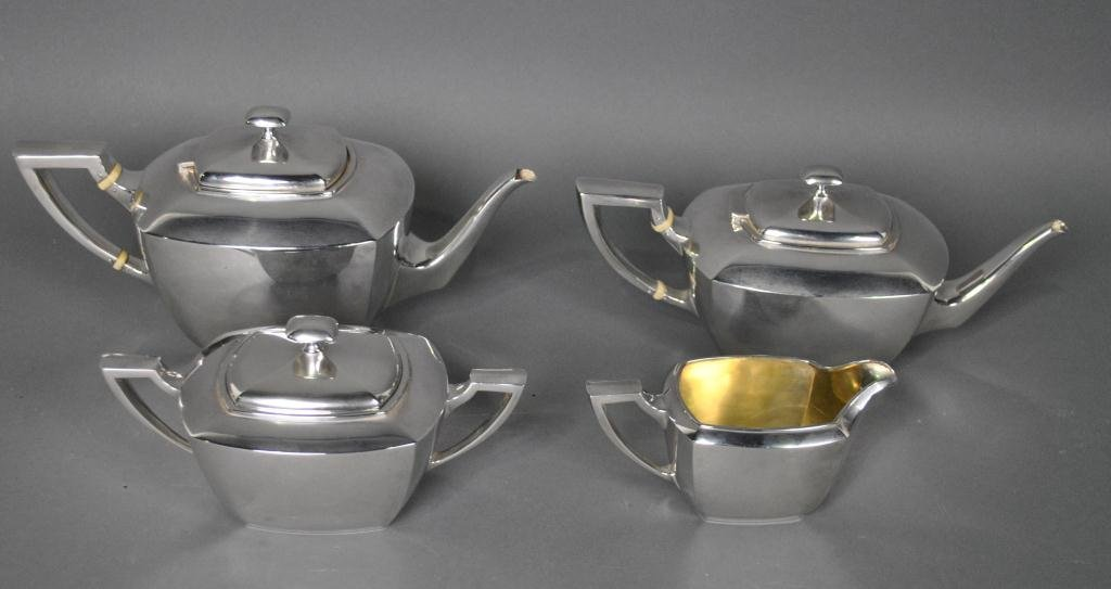16: 4-PIECE WHITING STERLING TEA SERVICE