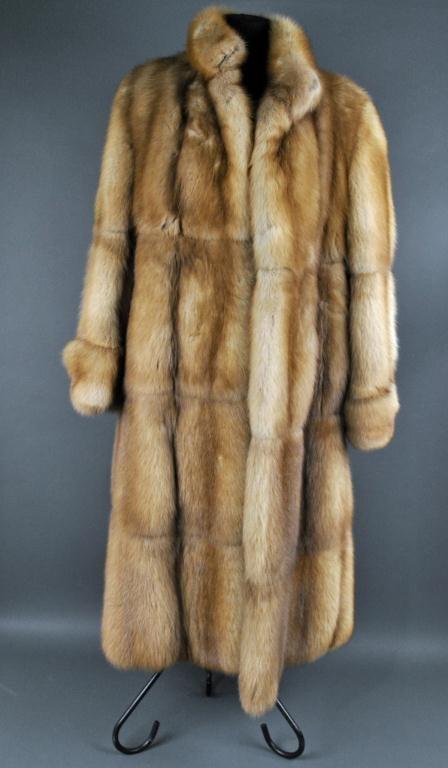 19: BIRGER CHRISTENSEN FULL-LENGTH RUSSIAN SABLE COAT