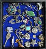 30-PIECE STERLING JEWELRY GROUP