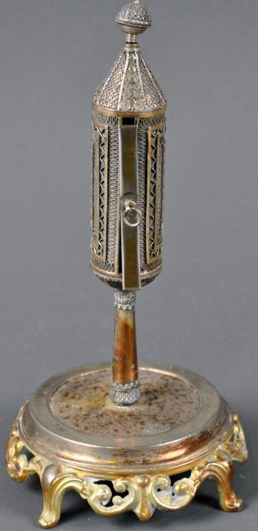 JUDAICA MEGILLAH ESTHER SCROLL HOLDER