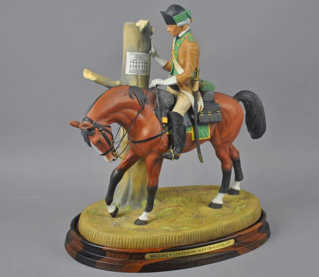13-PC. ROYAL DOULTON SOLDIERS OF THE REVOLUTION