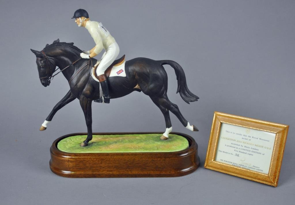 ROYAL WORCESTER - LAURIESTON & RICHARD MEADE O.B.E