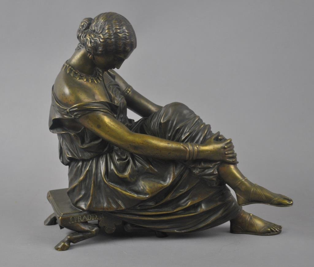 AFTER JEAN-JACQUES PRADIER, (French, 1792-1852)