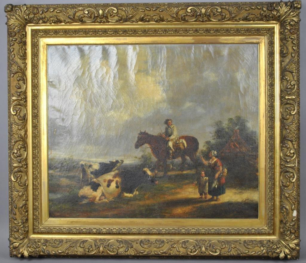 DUTCH SCHOOL (1848), PASTORAL SCENE