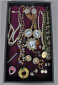 14PIECE COSTUME JEWELRY GROUP