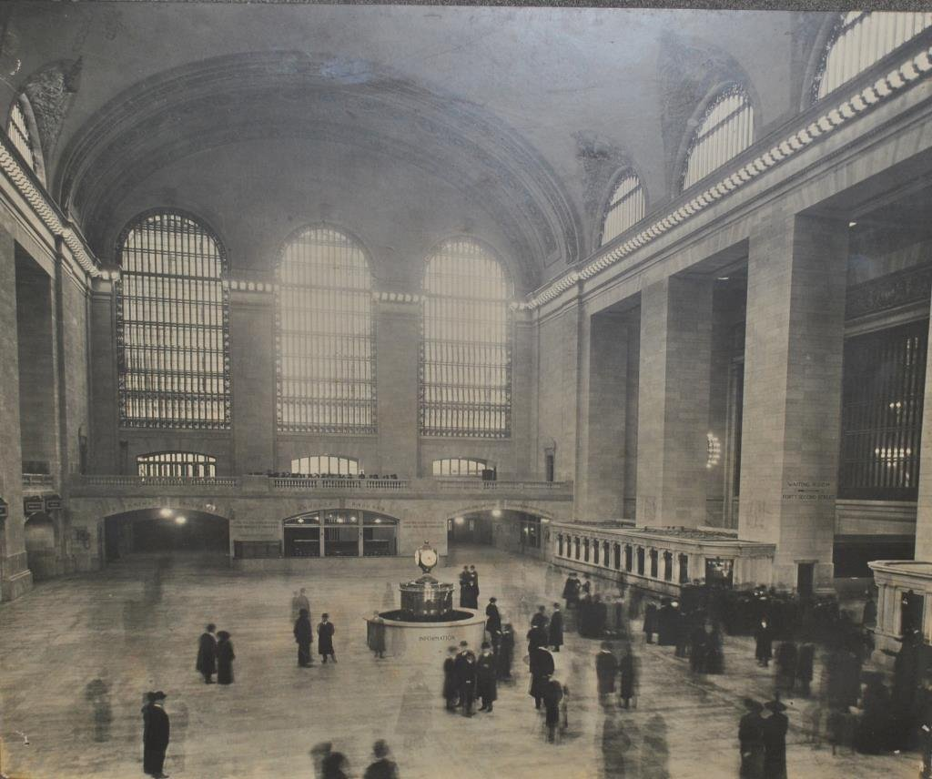 ENLARGED PHOTOGRAPH - GRAND CENTRAL TERMINAL