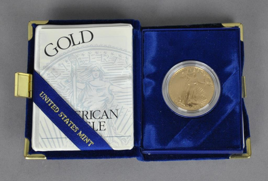 UNITED STATES AMERICAN EAGLE $50 GOLD PROOF COIN