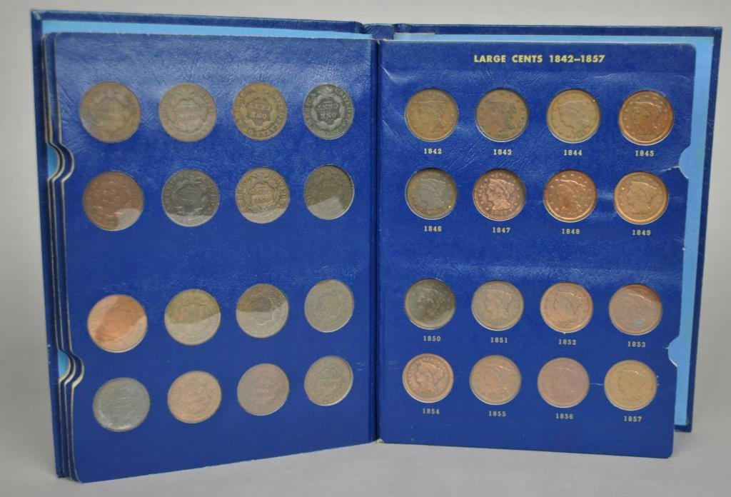 US LIBERTY HEAD OR LARGE CENTS COLLECTION