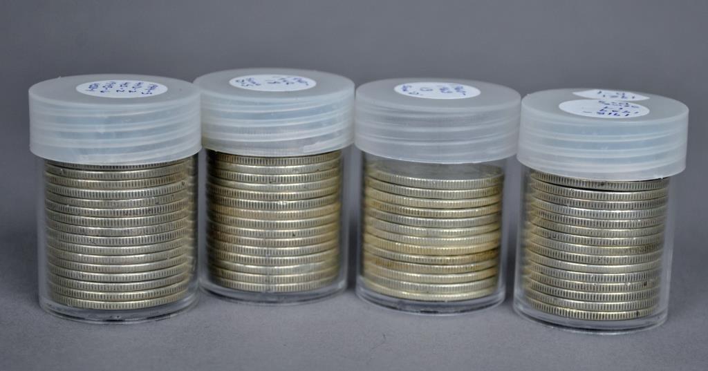 65-US SILVER HALF DOLLAR COINS