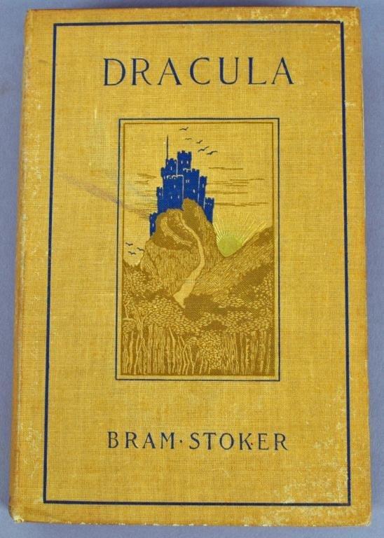 DRACULA – BRAM STOKER, 1899