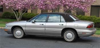 1998 BUICK LESABRE LIMITED AUTOMOBILE - 8750 MILES