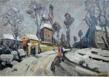 ANDRE DUNOVER DE SEGONZAC (U.S./France, 1884-1974)