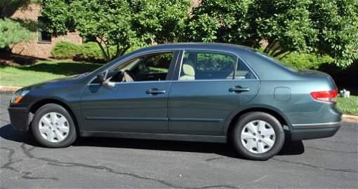 2004 HONDA ACCORD LX AUTOMOBILE – 17,604 MILES