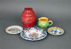 5 PIECE DUTCH CERAMIC GROUP