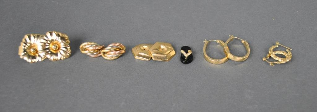 (6) PIECE GOLD JEWELRY GROUP