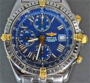 BREITLING CROSSWIND CHRONOGRAPH STAINLESS WATCH