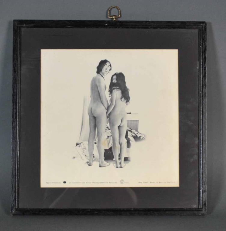 SIGNED JOHN & YOKO 'TWO VIRGINS' ALBUM COVER - 4
