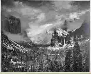 ANSEL ADAMS (California, 1902-1984)