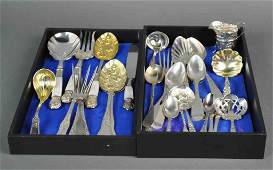 (30) PIECE SILVER & SILVERPLATE GROUP