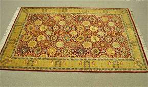 PERSIANSTYLE WOOL AREA RUG 73 X 47
