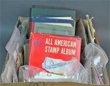 EXTENSIVE US  INTERNATIONAL STAMP COLLECTION