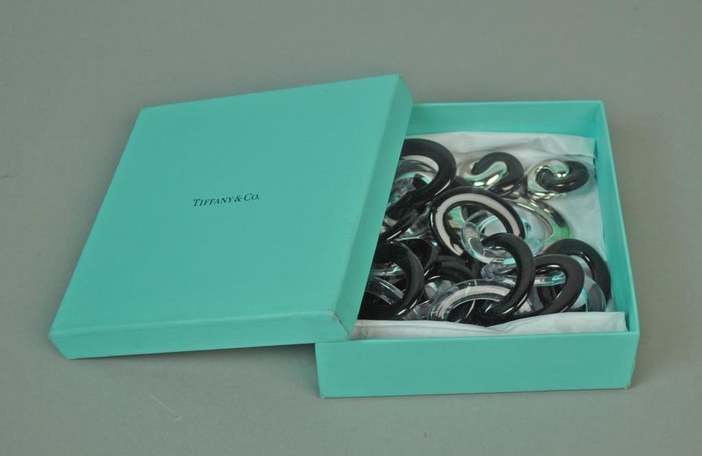 TIFFANY PALOMA PICASSO PLASTIC & SILVER NECKLACE - 3