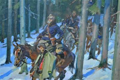 WOJCIECH ADALBERT KOSSAK (Polish, 1857-1942)