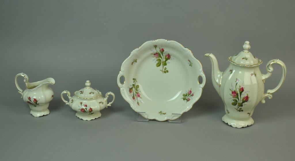 (96) PIECE ROSENTHAL MOSS ROSE CHINA SERVICE - 2