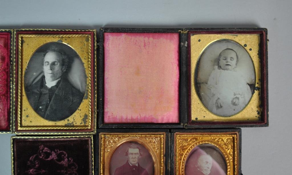 (5) POST MORTEM DAGUERREOTYPES & AMBROTYPES - 2