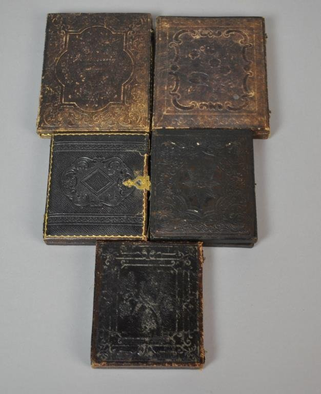 (5) POST MORTEM DAGUERREOTYPES & AMBROTYPES - 3