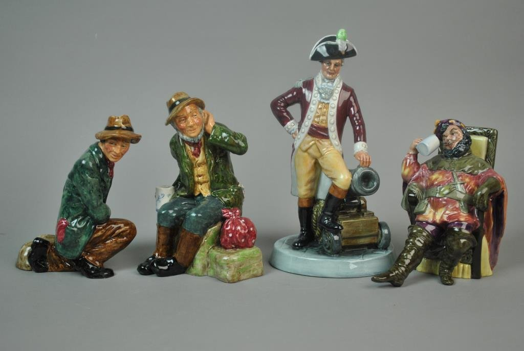 (4) ROYAL DOULTON GENT FIGURINES
