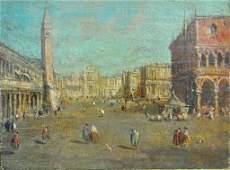 ITALIAN SCHOOL (18THC.), PIAZZA VIEW