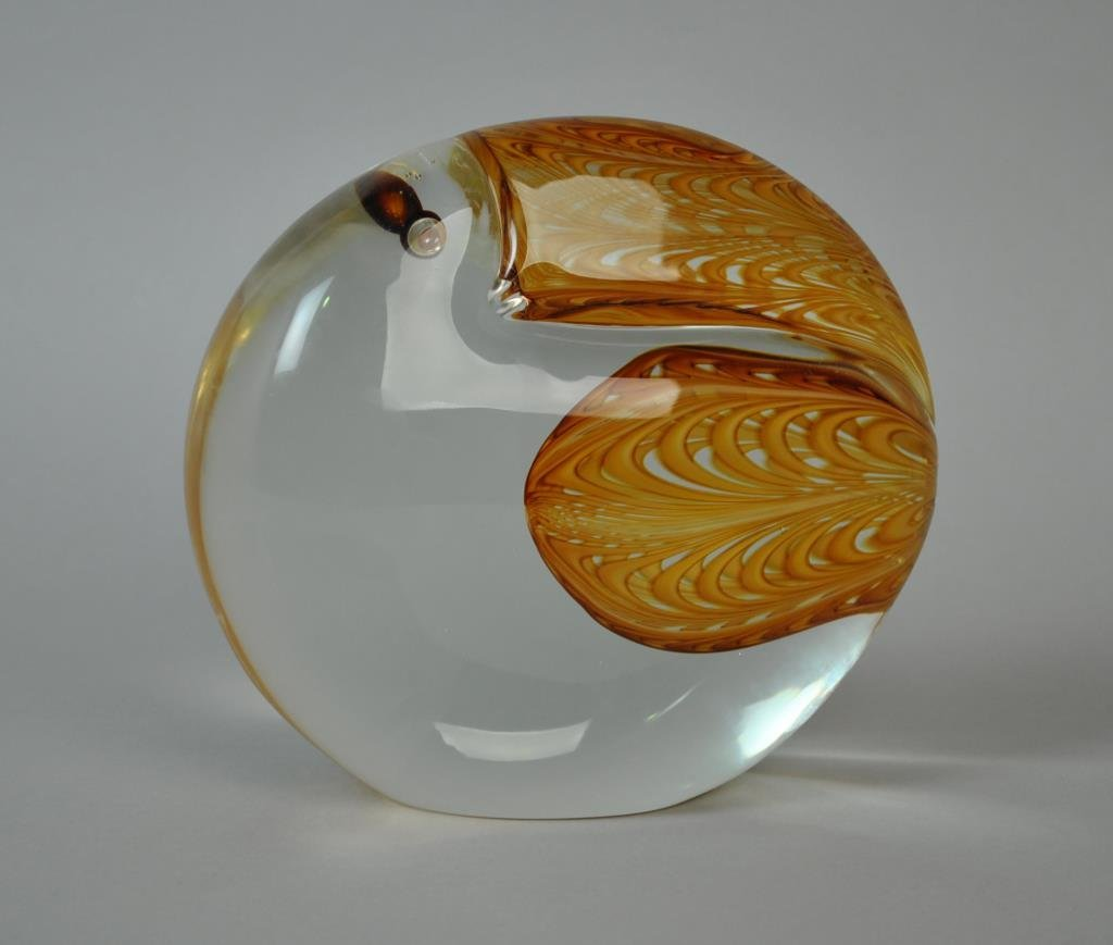 CENEDESE MURANO ART GLASS TOUCAN SCULPTURE