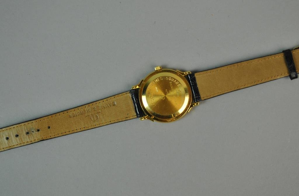 GENTS BAUME & MERCIER 18K GOLD CASE WATCH - 3