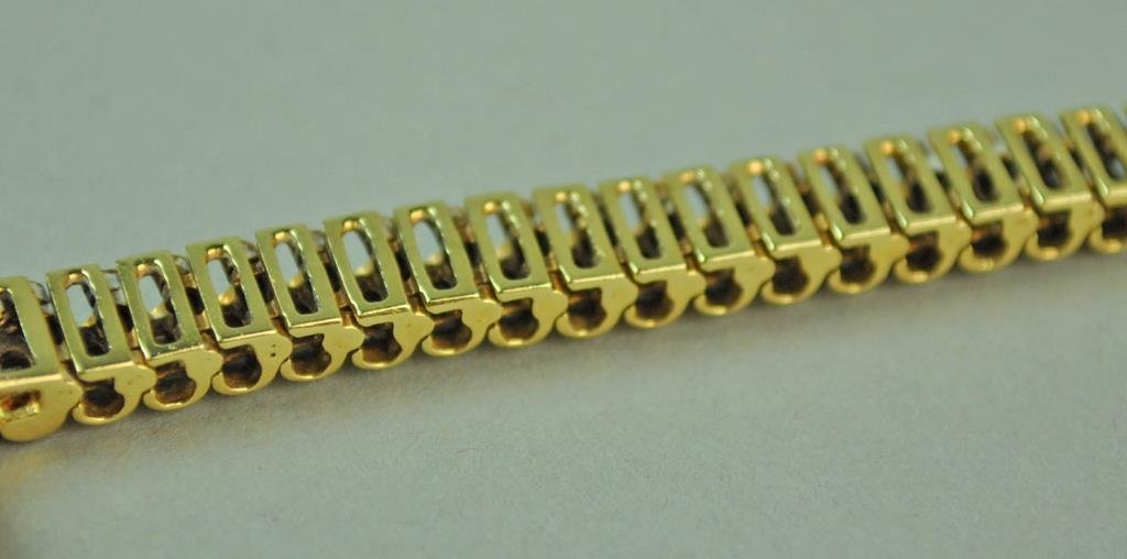 GOLD & DIAMOND LINK BRACELET, 1.86CTW - 4