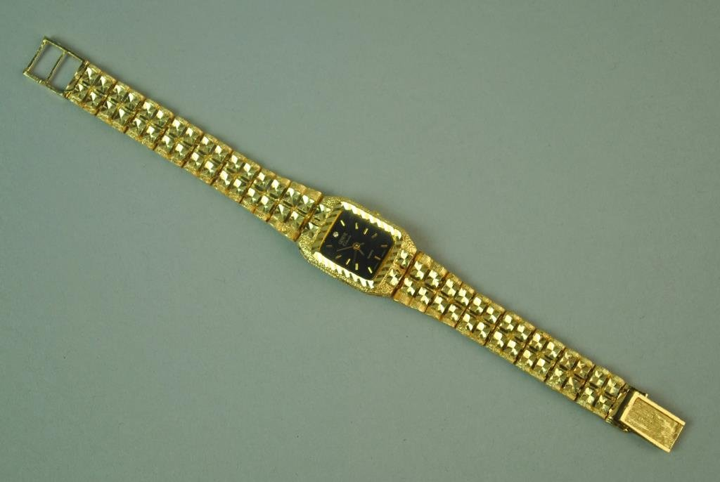 GENEVE CLASSIC GOLD BRACELET WATCH - 2