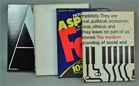 ASPEN MAGAZINES IN A BOX VOLUME 1, NO. 1-4