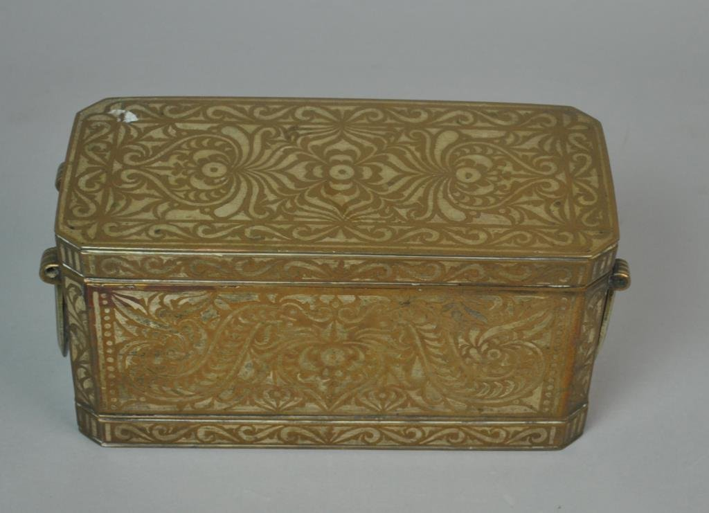 EAST ASIAN INLAID BETEL NUT BOX