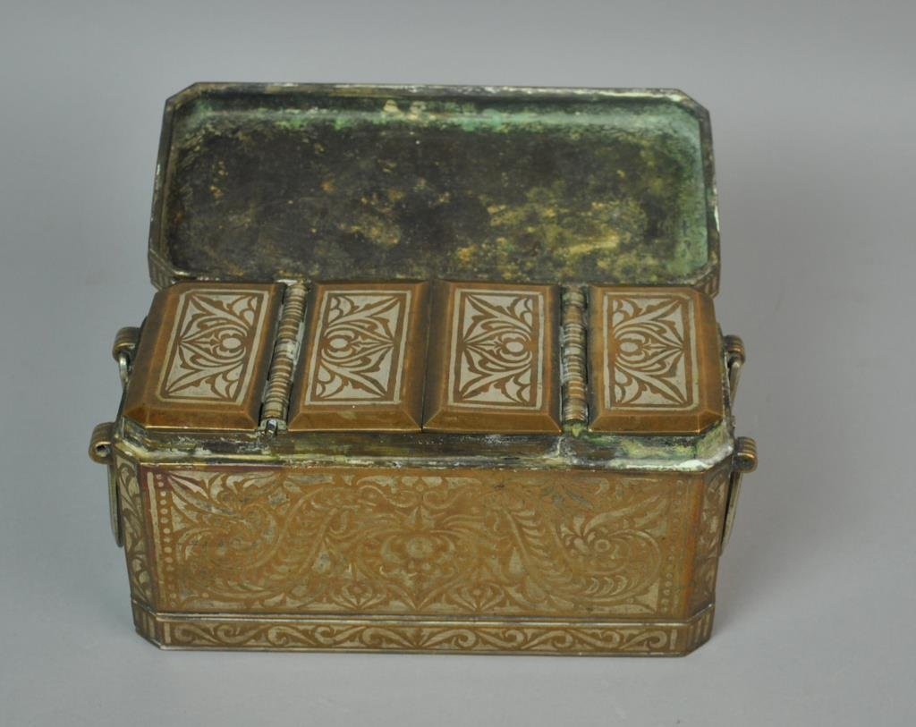 EAST ASIAN INLAID BETEL NUT BOX - 2