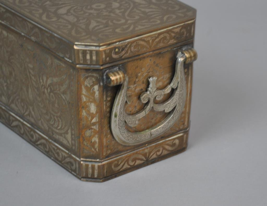 EAST ASIAN INLAID BETEL NUT BOX - 3