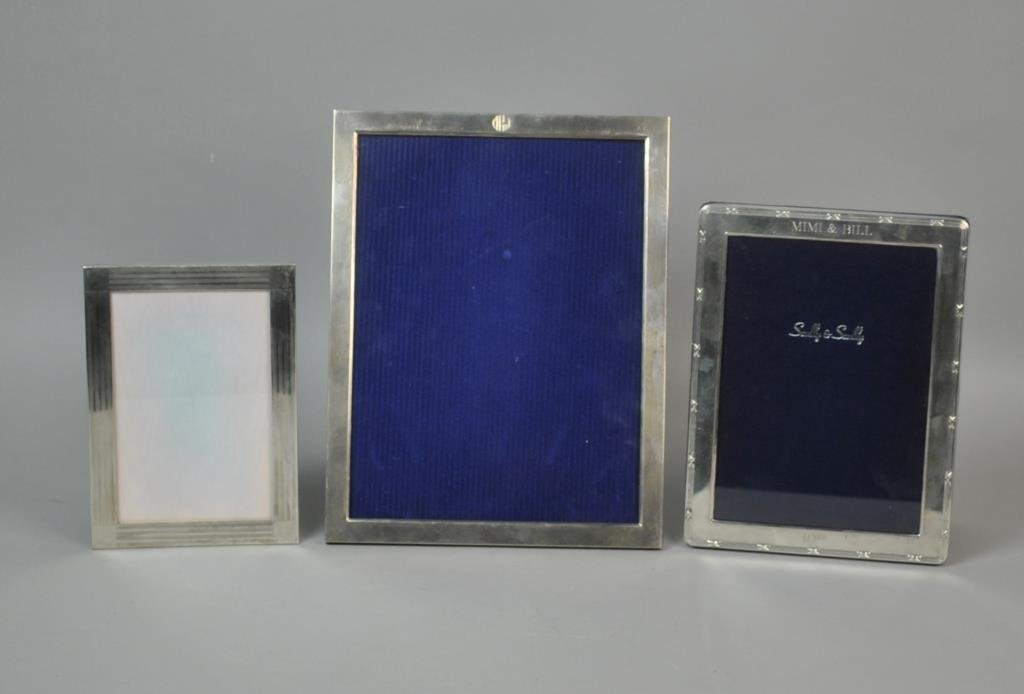 (3) STERLING PICTURE FRAMES