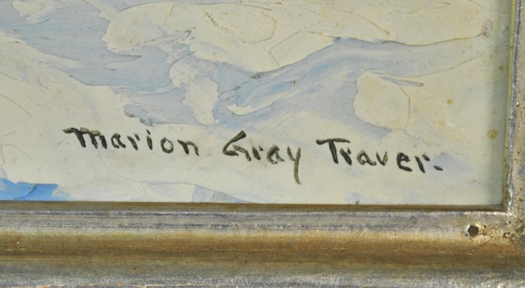 MARION GRAY TRAVER (New York, 1892-1964) - 4