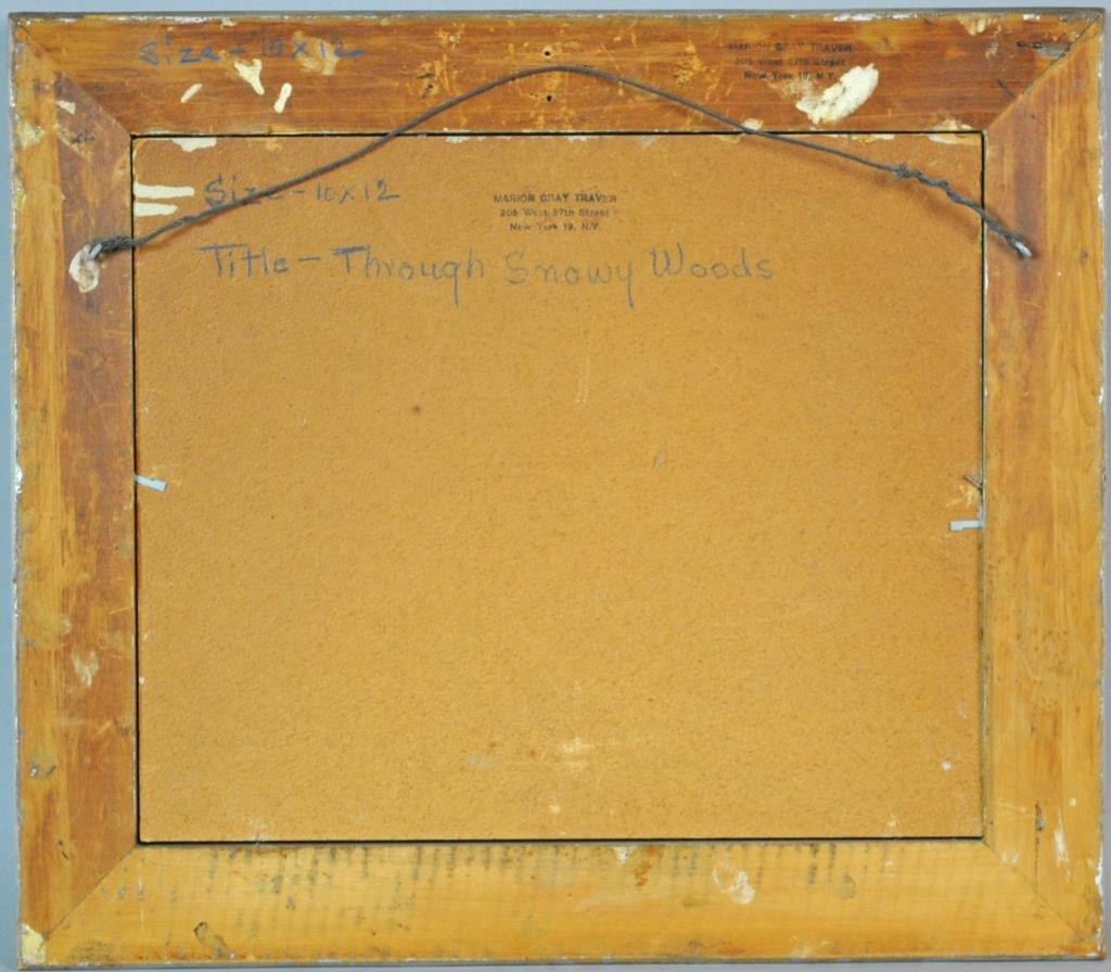 MARION GRAY TRAVER (New York, 1892-1964) - 5