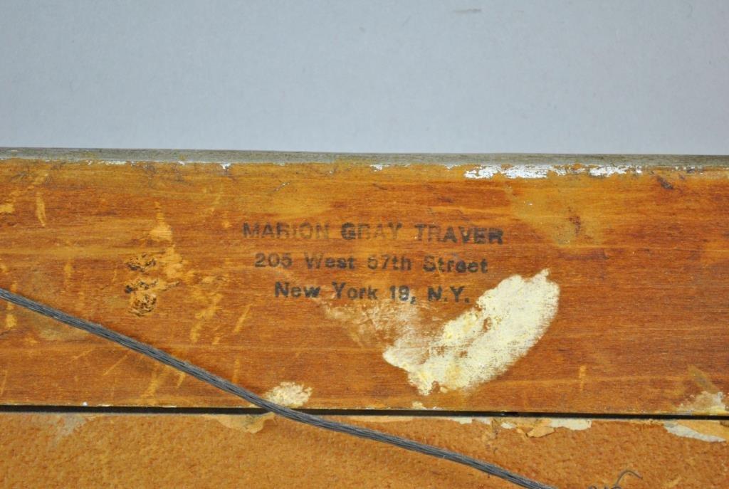 MARION GRAY TRAVER (New York, 1892-1964) - 7
