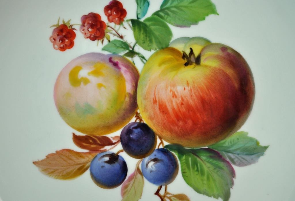 (7) PIECE MEISSEN FRUIT SET - 3