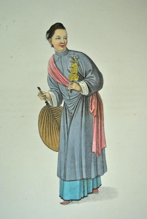 GEORGE HENRY MASON - THE COSTUME OF CHINA