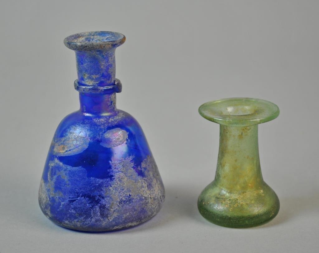 (2) ROMAN GLASS VESSELS - 2